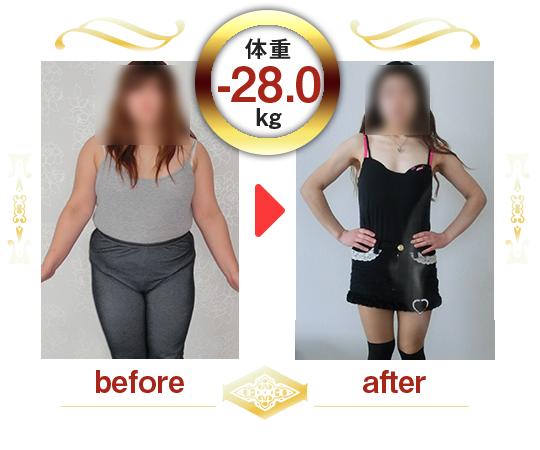 体重-28.0kg